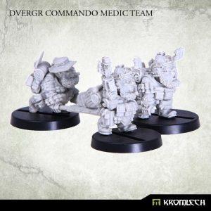 Kromlech   Dvergr Model Kits Dvergr Commando Medic Team (4) - KRM099 - 5902216113862