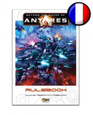 Warlord Games Beyond the Gates of Antares  SALE! Beyond the Gates of Antares Rulebook (French) - WGA-06 - 5060393703242