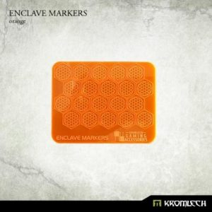 Kromlech   Status & Wound Markers Enclave Markers [orange] (20) - KRGA049 - 5902216115231