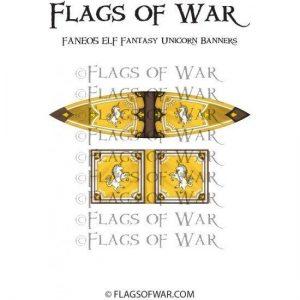 North Star Oathmark  Oathmark ELF Fantasy Unicorn Banners - FANE05 -