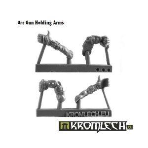 Kromlech   Orc Conversion Parts Orc Gun Holding Arms (5) - KRCB095 - 5902216110939