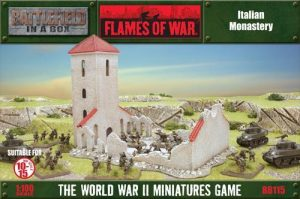Gale Force Nine   Battlefield in a Box Flames of War: Ruined Monastery (Italy) - BB115 -