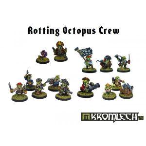 Kromlech   Orc Model Kits Rotting Octopus Crew (14) - KRM067 - 5902216112261
