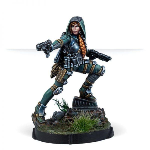 Corvus Belli Infinity  Ariadna Ariadna Uxía McNeill (Assault Pistol) - 281113-0864 - 2811130008648