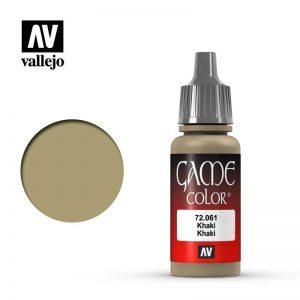 Vallejo   Game Colour Game Color: Khaki - VAL72061 - 8429551720618