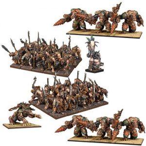 Mantic Kings of War  Ratkin Ratkin Army - MGKWRK101 - 5060469666716
