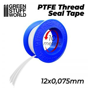 Green Stuff World   Airbrushes & Accessories PTFE Thread Seal Tape - 8436574507751ES - 8436574507751