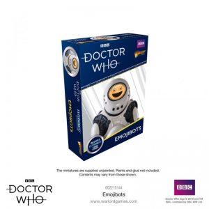Warlord Games Doctor Who  Doctor Who Doctor Who: Emojibots - 602210144 - 5060393709725
