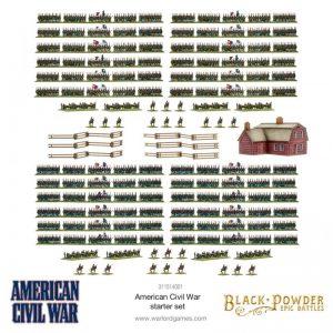 Warlord Games Black Powder Epic Battles  Black Powder Epic Battles Black Powder Epic Battles: American Civil War - 311514001 - 5060572509221