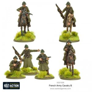 Warlord Games Bolt Action  France (BA) French Army Cavalry B - 403015506 - 5060572501669