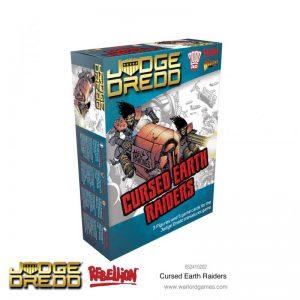 Warlord Games Judge Dredd  Judge Dredd Judge Dredd: Cursed Earth Raiders - 652410202 - 5060572505414
