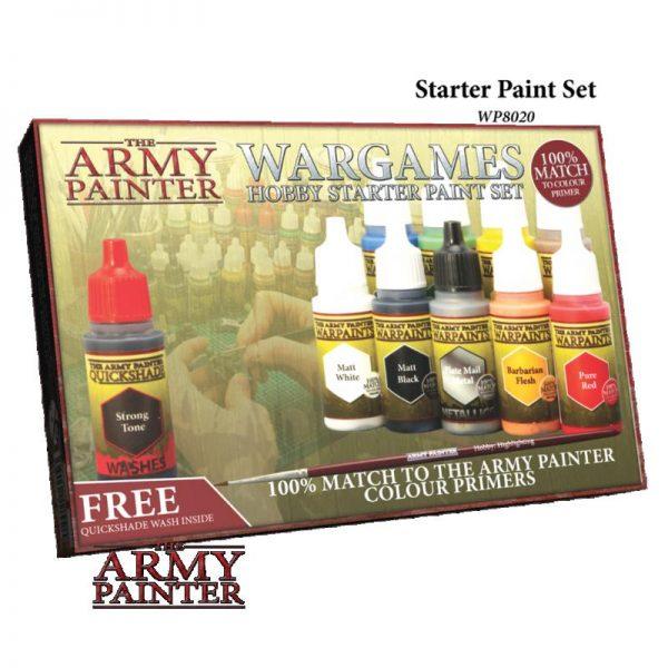 The Army Painter   Paint Sets Warpaints Starter Paint Set - APWP8020 - 2580201115515