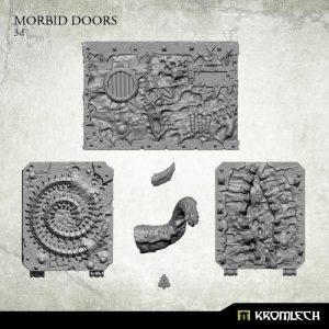 Kromlech   Misc / Weapons Conversion Parts Morbid Legion Doors - KRVB032 - 5902216115613