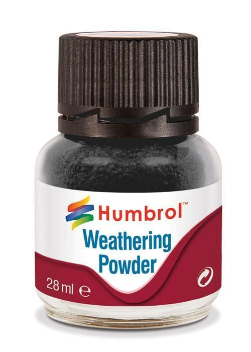 Humbrol   Weathering Powders Weathering Powder 28ml Black - AV0001 - 5010279700995