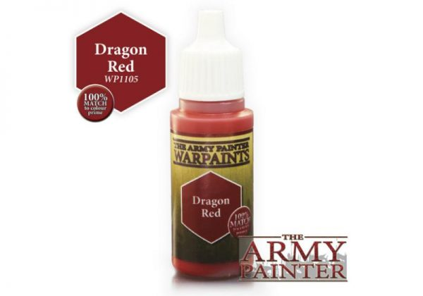 The Army Painter   Warpaint Warpaint - Dragon Red - APWP1105 - 2561105111117