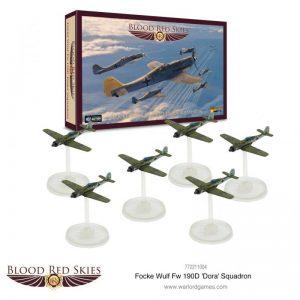 Warlord Games Blood Red Skies  Blood Red Skies Blood Red Skies: Fw 190 Dora Squadron - 772211004 - 5060572502741