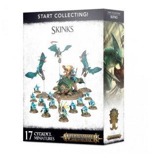 Games Workshop Age of Sigmar  Seraphon Start Collecting! Skinks - 99120208025 - 5011921126385