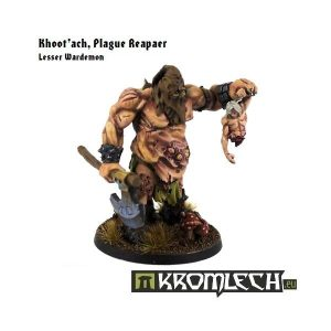 Kromlech   Heretic Legionary Model Kits Khoot'ach, Plague Reaper - KRM017 - 5902216111424