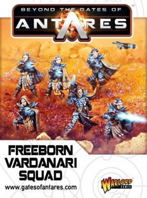 Warlord Games Beyond the Gates of Antares  SALE! Freeborn Vardanari Squad - WGA-FRB-03 - 5060393702108