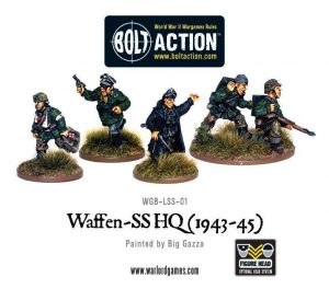Warlord Games Bolt Action  Germany (BA) Waffen-SS HQ - WGB-LSS-01 - 5060200846490