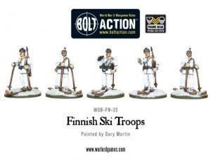 Warlord Games Bolt Action  Finland (BA) Finnish Ski Troops - WGB-FN-25 - 5060200848845