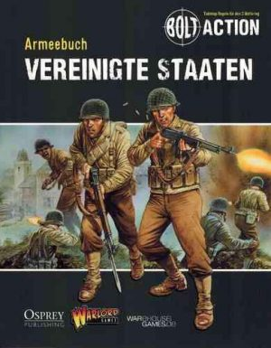 Warlord Games Bolt Action  United States of America (BA) Armeebuch Vereinigten Staaten - WG-BA-DE-003 - TBA