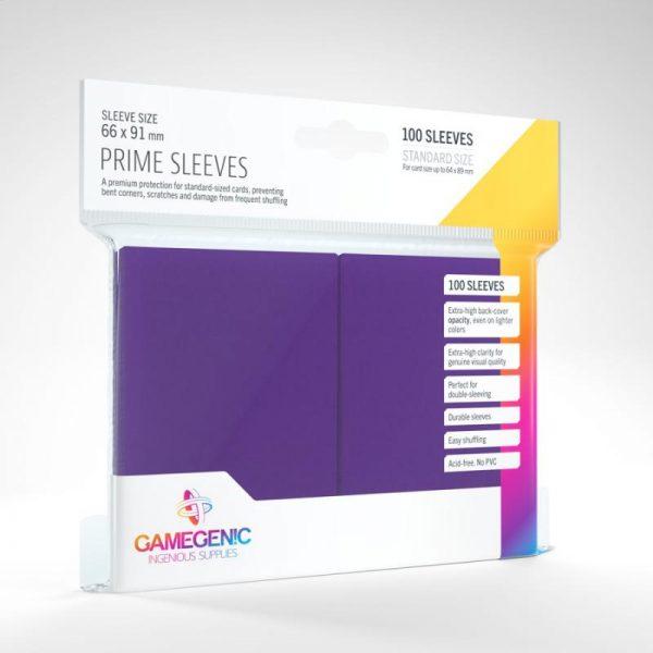 Gamegenic   SALE! Gamegenic Prime Sleeves Purple (100 pack) - GGS11021ML - 4251715402252