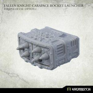 Kromlech   Heretic Legionary Conversion Parts Fallen Knight Carapace Rocket Launcher (1) - KRVB098 - 5902216119888