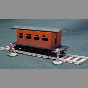 TTCombat   Wild West Scenics (28-32mm) Train Passenger Carriage - WWS027 -