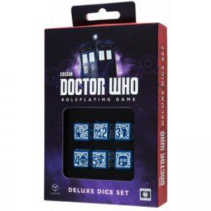 Q-Workshop   Q-Workshop Dice Doctor Who 6D6 RPG Deluxe Dice set (6) - CB71130 - 9780857443052