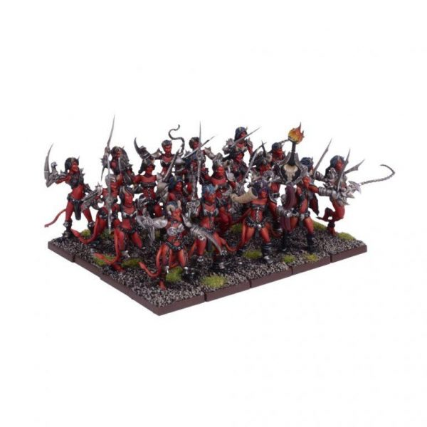 Mantic Kings of War  Forces of the Abyss Succubi Regiment - MGKWA104 - 5060208868579