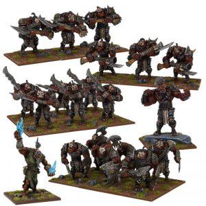Mantic Kings of War  Ogres Ogre Army - MGKWH107 - 5060469661186