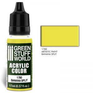 Green Stuff World   Acrylic Paints Acrylic Color BANANA SPLIT - 8436574501391ES - 8436574501391