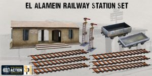 Warlord Games   Warlord Games Terrain El Alamein Railway Station Set - N122 - 5060572501478