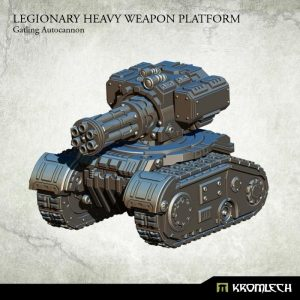 Kromlech   Legionary Model Kits Legionary Heavy Weapon Platform: Gatling Autocannon (1) - KRM116 - 5902216114456