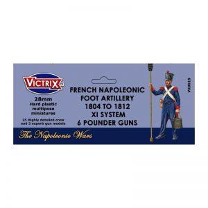 Victrix   Victrix French Napoleonic Artillery 1804-1812 XI System - VX0019 -