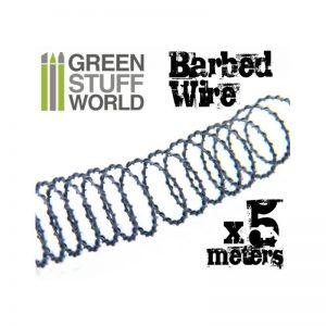 Green Stuff World   Modelling Extras 5 meters of simulated BARBED WIRE - 8436554366019ES - 8436554366019