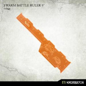 Kromlech   Tapes & Measuring Sticks Swarm Battle Ruler 9in [orange] (1) - KRGA061 - 5902216117020