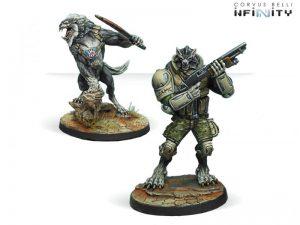 Corvus Belli Infinity  Ariadna Devil Dogs Teams, 2nd Assault Bat. USAMC - 280176-0580 - 2801760005803