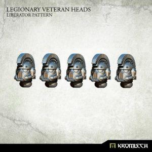 Kromlech   Legionary Conversion Parts Legionary Veteran Heads: Liberator Pattern (5) - KRCB208 - 5902216116122