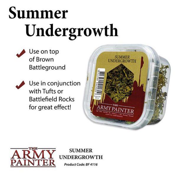 The Army Painter   Lichen & Foliage Battlefields: Summer Undergrowth - APBF4116 - 5713799411609