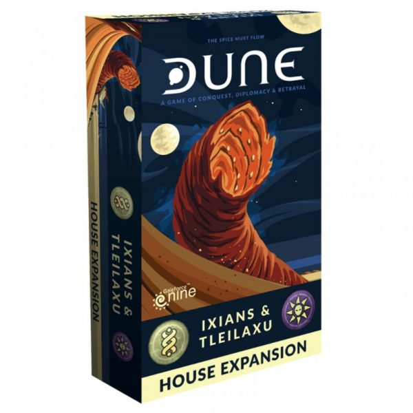 Gale Force Nine Dune: The Board Game  Dune: The Board Game Dune: Ixians & Tleilaxu House Expansion - DUNE02 - 9420020250512