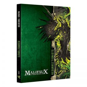 Wyrd Malifaux  Resurrectionists Resurrectionist Faction Book - M3e Malifaux 3rd Edition - WYR23013 - 9781733162746