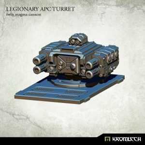 Kromlech   Vehicles & Vehicle Parts Legionary APC turret: Twin Magma Cannon (1) - KRVB028 - 5902216114760