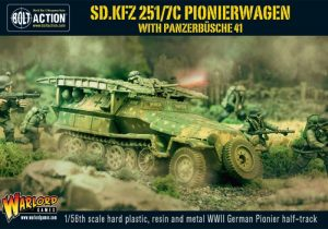 Warlord Games Bolt Action  Germany (BA) Sd.Kfz 251/7C Pionierwagen Panzerbuchse 41 - WGB-WM-503 - 5060200849002