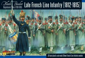 Warlord Games Black Powder  French (Napoleonic) Late French Line Infantry (1812-1815) - WGN-FR-10 - 5060393703570