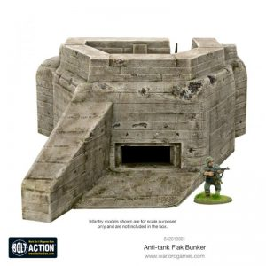 Warlord Games Bolt Action  Warlord Games Terrain R677-style Flak Bunker - 842010001 - 5060572500358