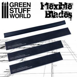Green Stuff World   Green Stuff World Tools Flexible CLAY blade set - 8436554362110ES - 8436554362110