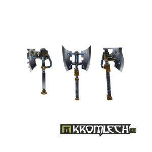 Kromlech   Misc / Weapons Conversion Parts Power Axes (6) - KRCB096 - 5902216110946