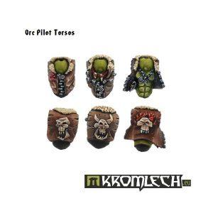 Kromlech   Orc Conversion Parts Orc Pilot Torsos (6) - KRCB052 - 5902216110502